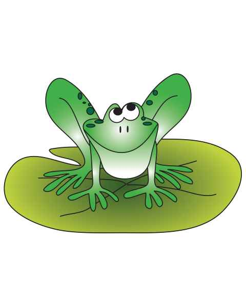 Clinton 9743 Froggie Graphic
