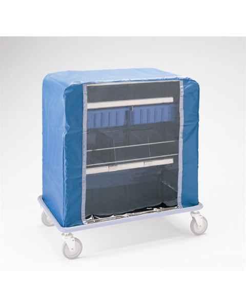 Pedigo Cart Cover With Nylon Zipper For Cart With No Linen Rings