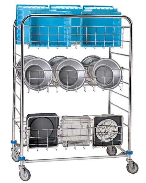 Pedigo Sterile Processing Wash Cart