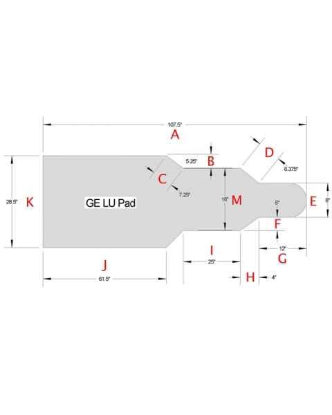 GE LU Table Pad