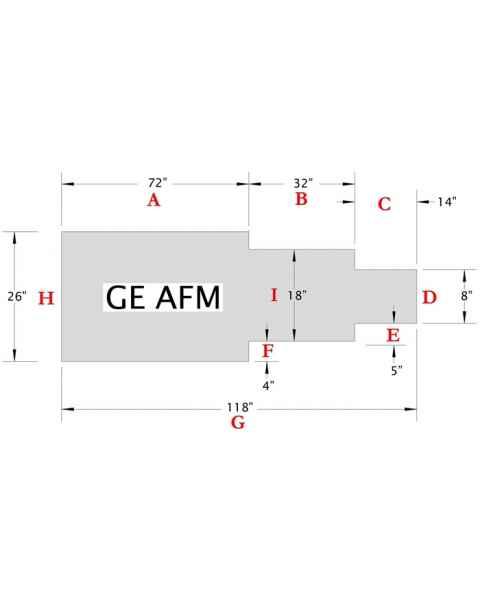 GE AFM Table Pad