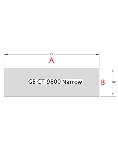 GE 9800 Narrow Table Pad