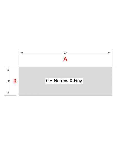 GE Narrow X-Ray Table Pad