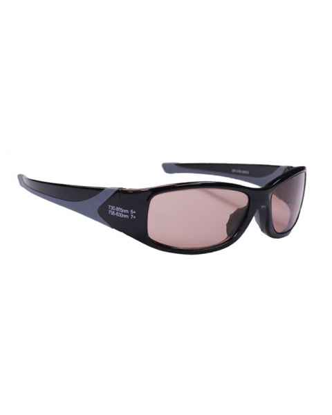 Alexandrite/Diode EN207 Laser Safety Glasses - Model 808