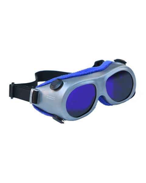 Dye Diode and HeNe Ruby Laser Filter Safety Goggles - Model 55