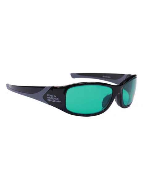 Alexandrite Diode High Light Transmission Laser Safety Glasses - Model 808