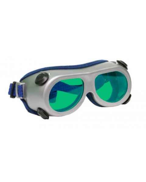 Flat Glass Model 55 Laser Glasses - Green Lenses