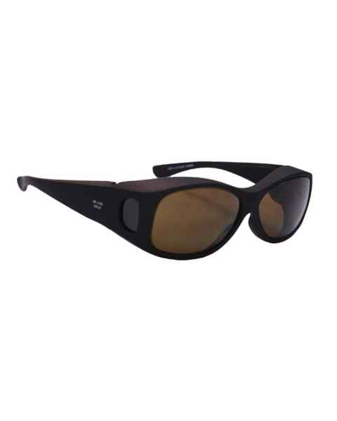IPL Brown Contrast Enhancement Fit-Over Laser Safety Glasses - Model 33