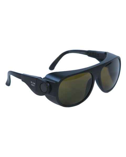 IPL Brown Contrast Enhancement Laser Safety Glasses - Model 66