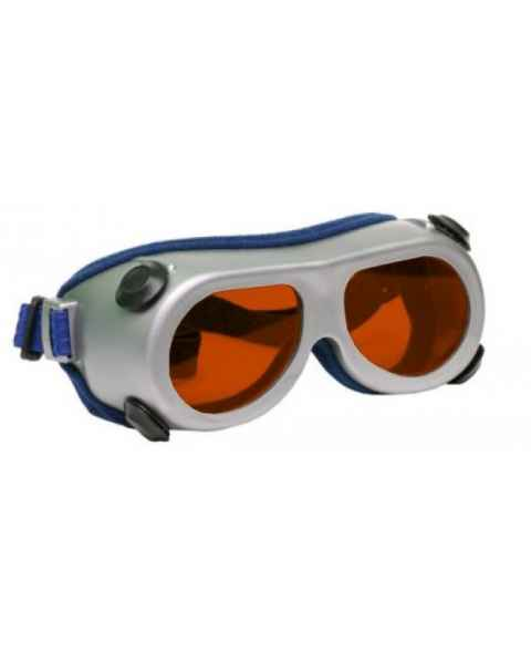 Flat Glass Model 55 Laser Glasses - Orange Lenses