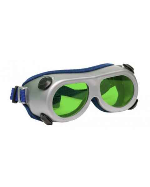 Flat Glass Model 55 Laser Glasses - Pale Green Lenses