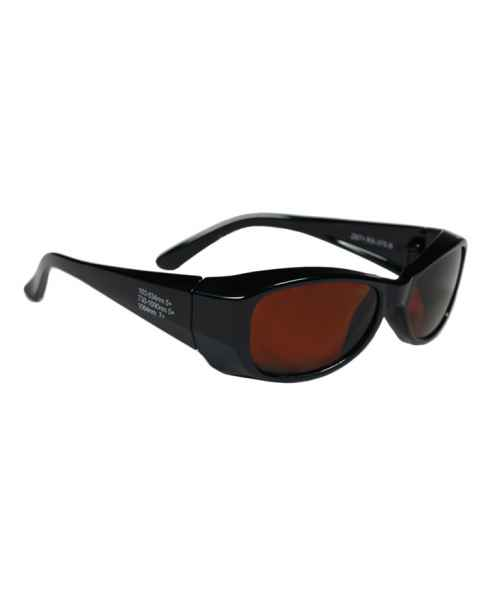 Multiwave YAG Harmonics Alexandrite Diode Laser Safety Glasses - Model 375