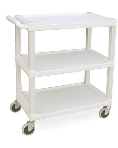 Lakeside 2000 Standard Duty Stain Resistant Plastic Utility Cart