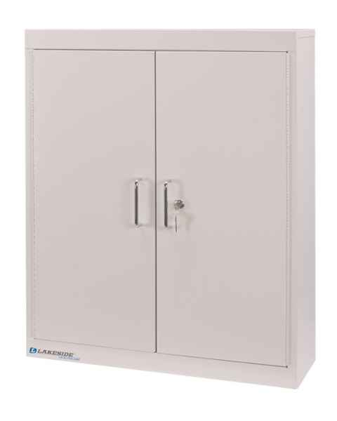 "Lakeside Medication Storage Cabinet, Four Shelves - 30"" H x 24"" L x 8"" W"