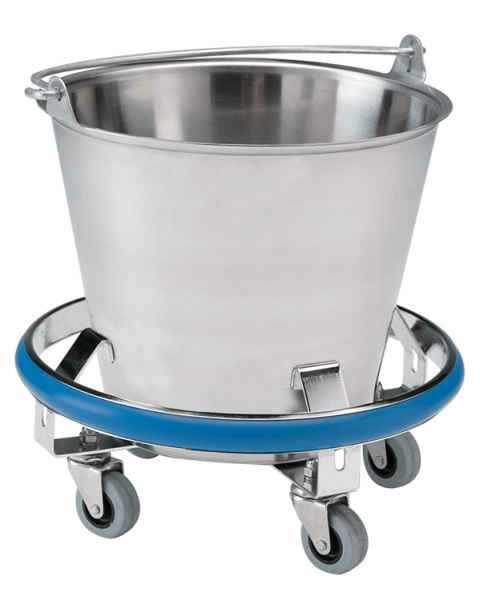 Pedigo Stainless Steel Kick Bucket