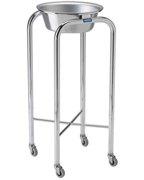 Pedigo Stainless Steel Single Basin Stand With Stainless Steel Basin