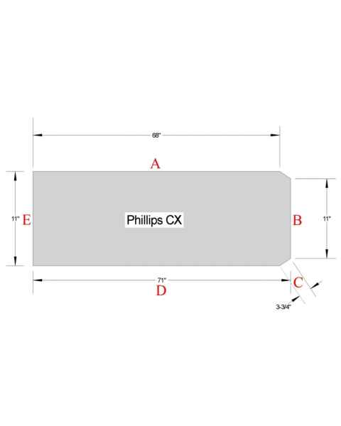 Philips CX Table Pad