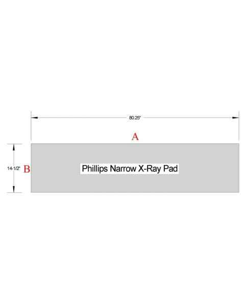 Philips Narrow X-Ray Table Pad