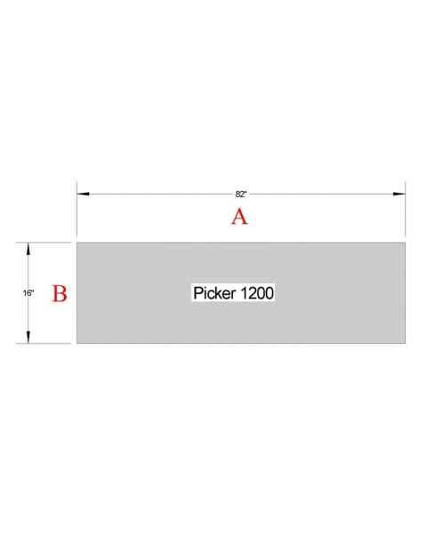 Picker 1200 Table Pad