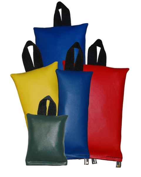 Techno Aide SBK-PA Pediatric Vinyl Sandbag Set of 5