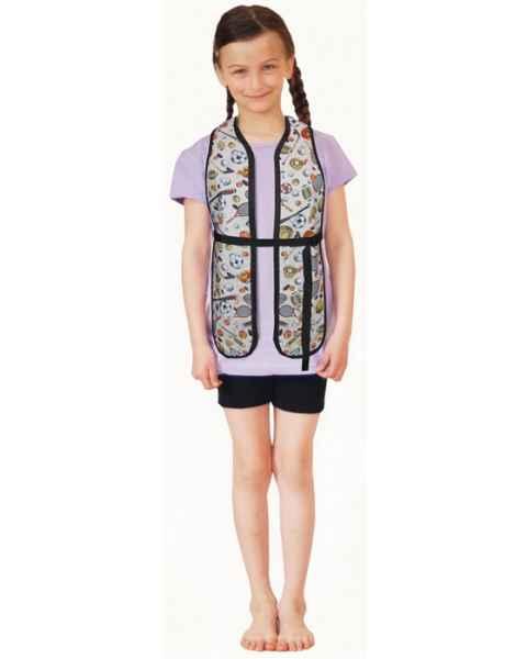 Child Scolio-Guard Scoliosis Shawl / Spinal Stole