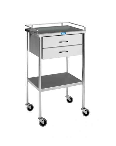 Pedigo Utility Table With Two Drawers