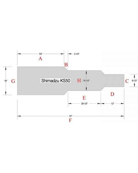 Shimadzu KS50 Table Pad