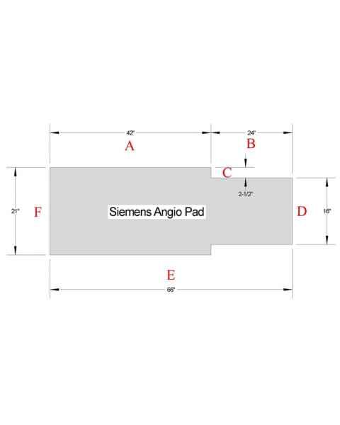 Siemens Angio Table Pad