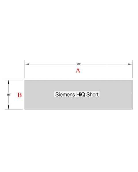 Siemens HiQ Short Table Pad