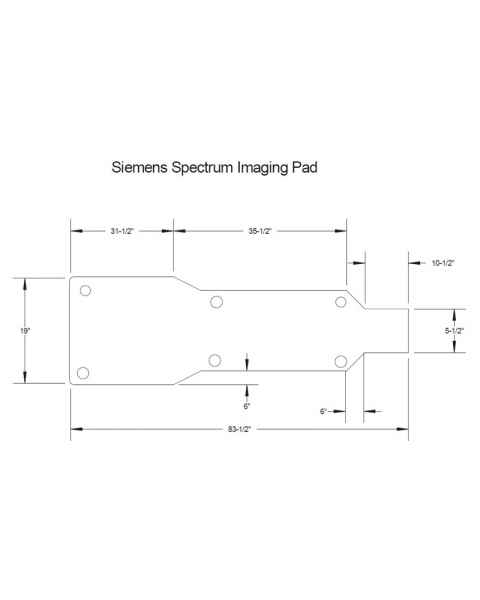 Siemens Spectrum Imaging Table Pad
