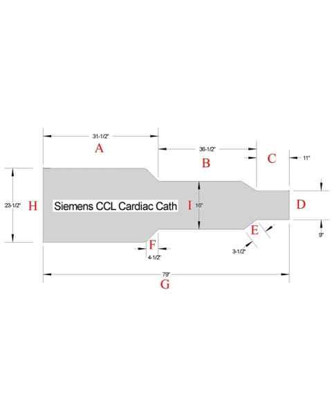 Siemens CCL Cardiac Cath Table Pad