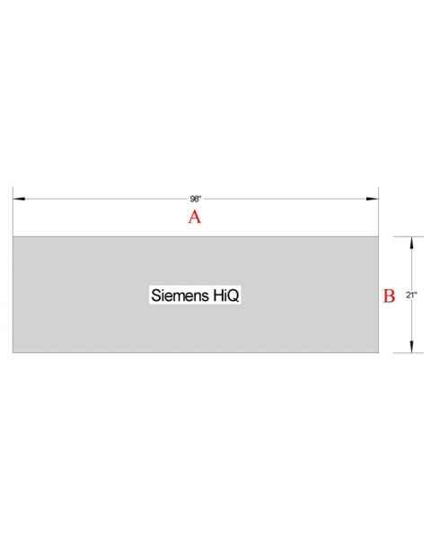 Siemens HiQ Standard Table Pad