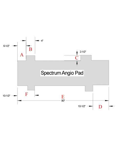 Spectrum Angiography Table Pad