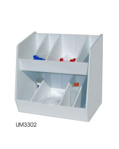 Adjustable Storage with Eight Bins