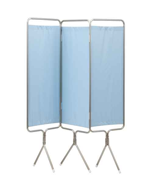 3 Panel Aluminum Frame with Flame Resistant Colored Vinyl Screen