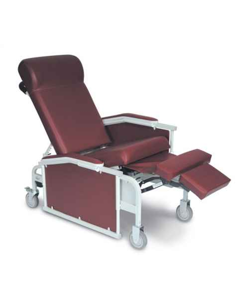 Drop Arm Convalescent Recliner without Tray