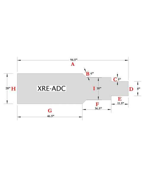 XRE-ADC Table Pad
