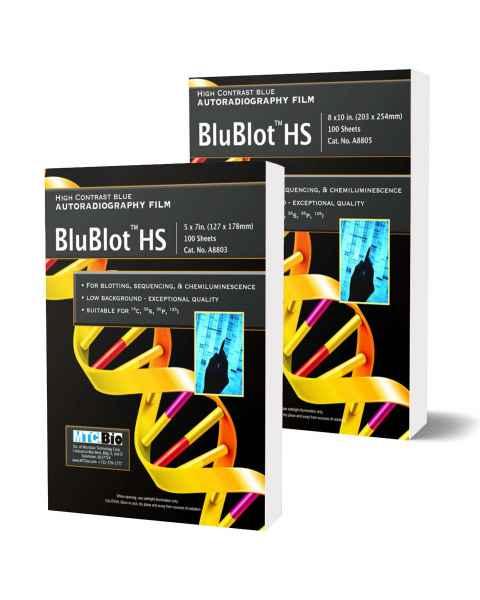 MTC Bio A8803 & A8805 BluBlot HS Autoradiography Film