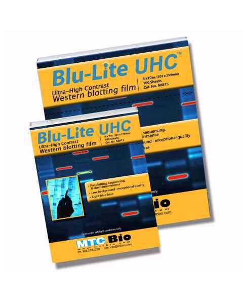 MTC Bio A8813 & A8815 Blu-Lite UHC Autoradiography Film