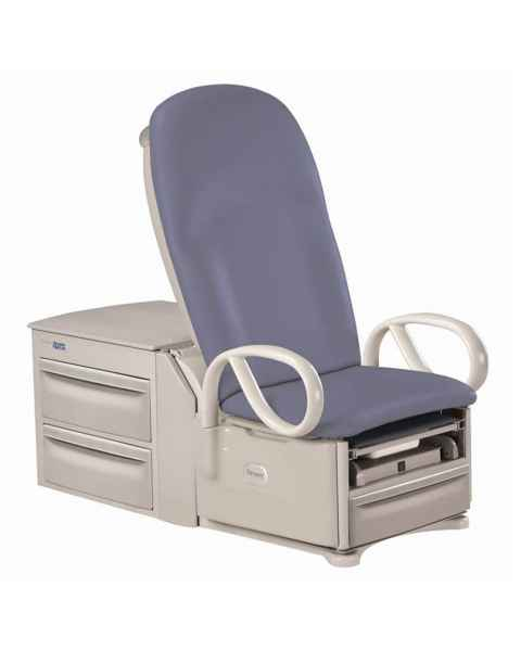Power Back Access High-Low Exam Table With Pelvic Tilt, Drawer Heater
