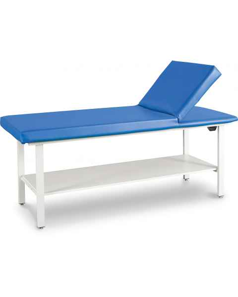 Adjustable Back Treatment Table with Shelf