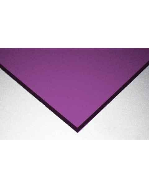 Dye 592 Laser Protective Acrylic Sheet - Purple
