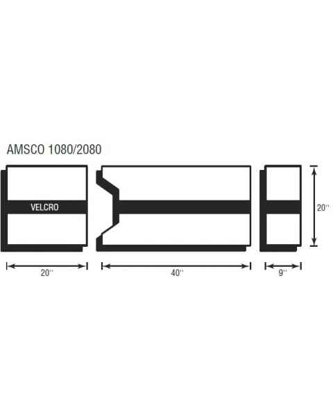 Amsco 1080/2080 3 Piece Table Pad Set