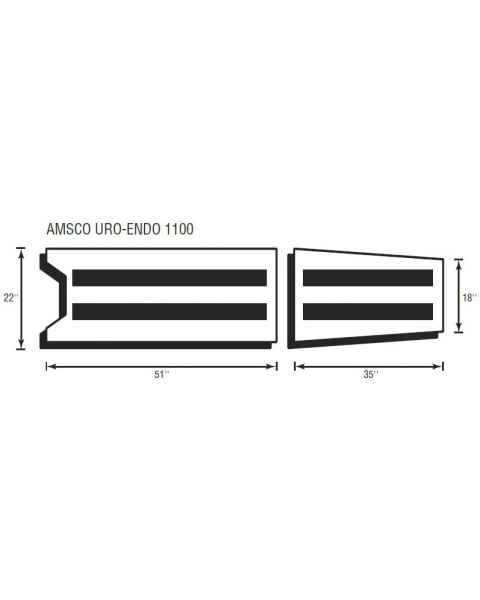 Amsco Uro-Endo 1100 2 Piece Table Pad Set
