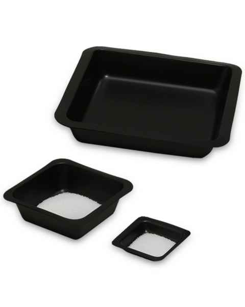 MTC Bio Antistatic Polystyrene Square Weigh Boat - Black