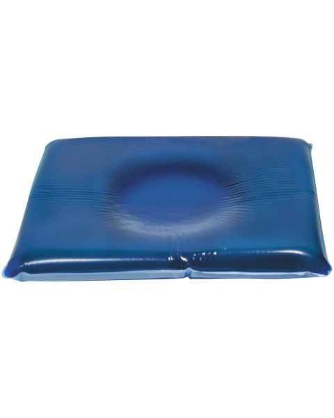 "Head Pillow with Centering Dish, Dimensions 9"" x 10"" by 1"" thick"