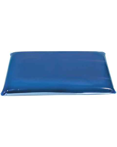 "Sloped Thoracic Positioner Dimensions 10 1/2"" by 16""  Gel Pad is sloped From 2"" to 1 1/2"" thick"