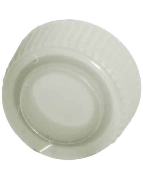Siliconized Screw Cap with O-Ring for Bio Plas Siliconized Microcentrifuge Tube - Natural