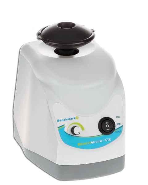 BenchMixer V2 Vortex Mixer with flip top cup head and new counter balance (115V)