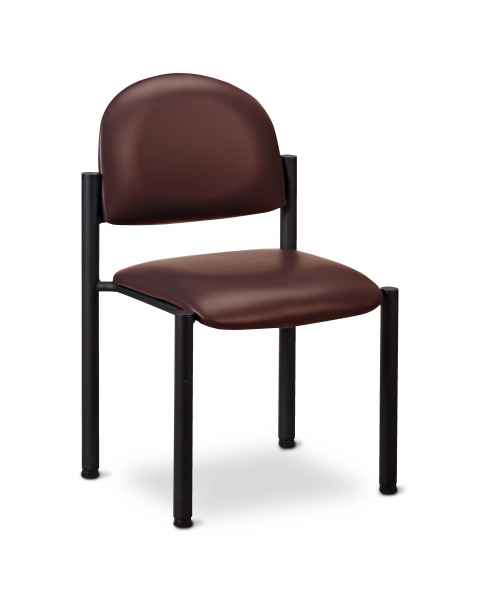 Clinton Model C-40B Premium Side Chair With Wall Guard & No Arms